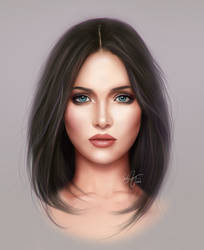 Face Study by Selphia