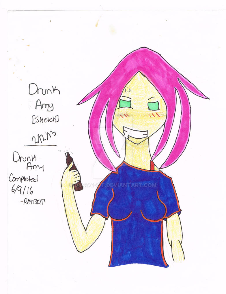 Drunk Amy by DJRaybot