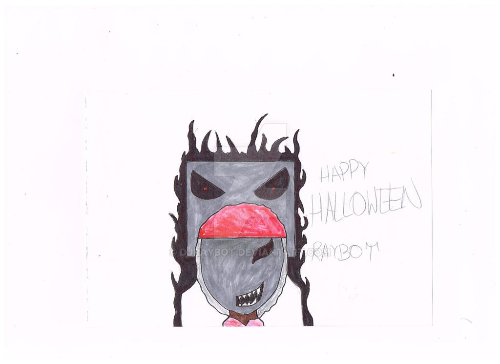 Happy Halloween(Without background) by DJRaybot