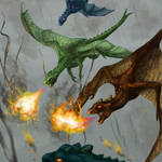 Dragonets Do It With Fire