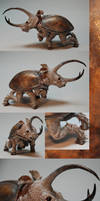 Rhinoceros Beetle - Finished by Malicious-Monkey