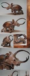 Rhinoceros Beetle - Finished by Malicious-Monkey