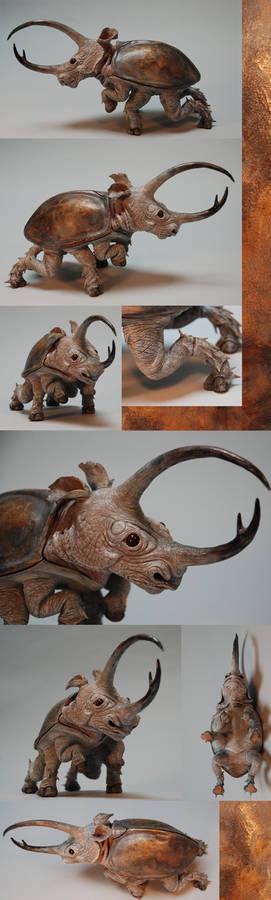 Rhinoceros Beetle - Finished