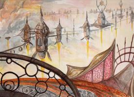Skytown, Elysia by Malicious-Monkey