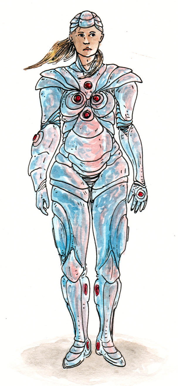 Zero Suit Redesign: Endocuticle by Malicious-Monkey
