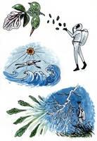 The Gardener - Creation Myth by Malicious-Monkey