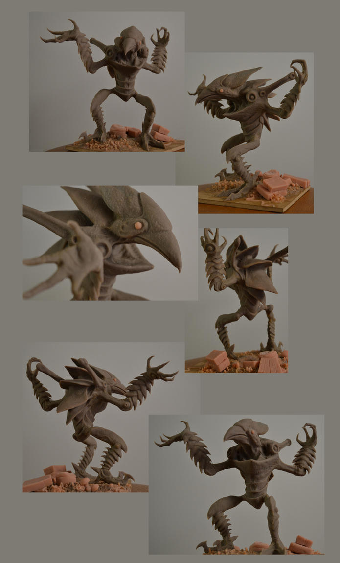 Chozo Ghost (unpainted) by Malicious-Monkey