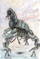 Geth Colossus by Malicious-Monkey