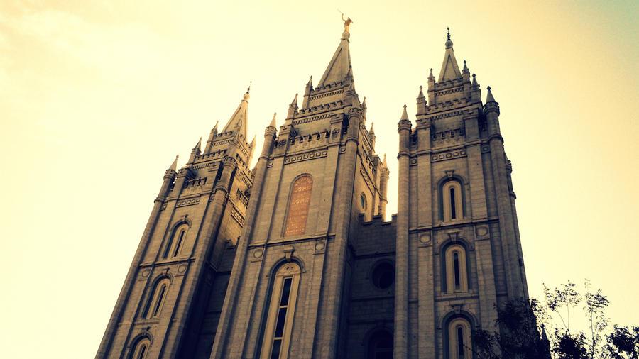 Salt Lake City LDS Temple By Mandreab