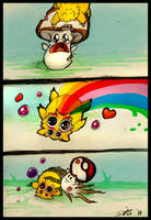 Joltik uses Bug Bite by Sitaart