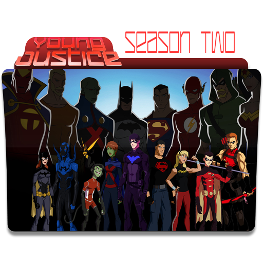 Icon Young Justice Young Justice season 2...