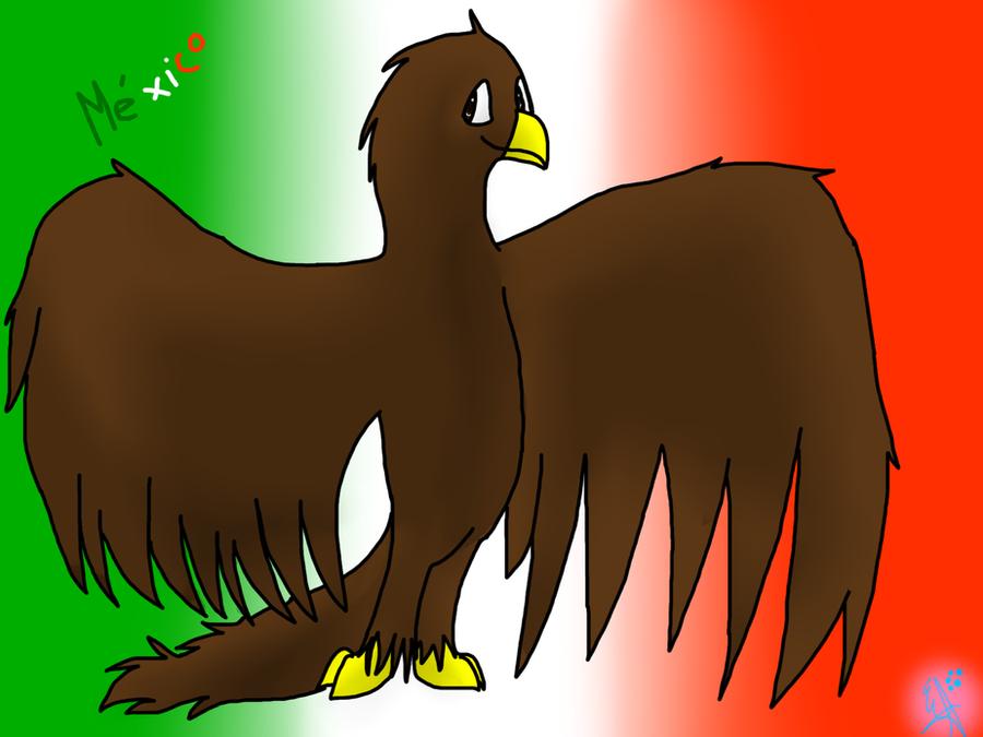 .:La aguila de la bandera de Mexico:. by aseuria
