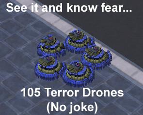 Terror Swarm by AdrianQu
