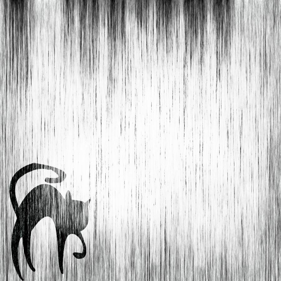 Halloween Texture Cat by DesiraeR