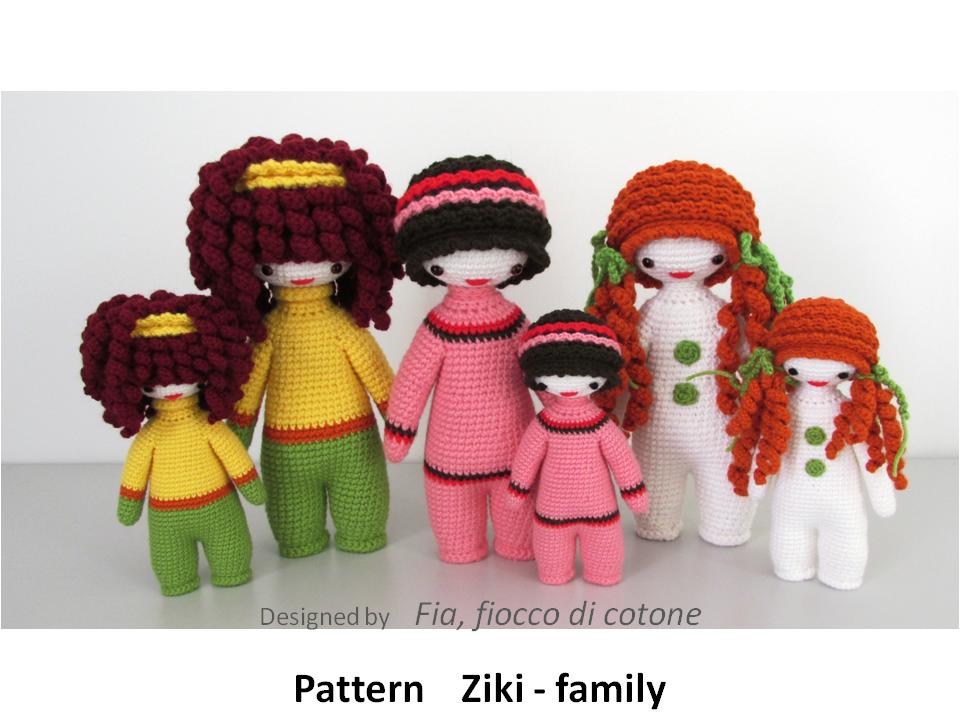 pattern Ziki family by cottonflake