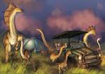 Jurassic world safari