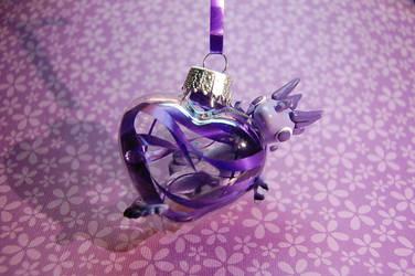 Purple Ornament Dragon by Snowifer