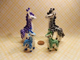 Giraffes by Snowifer