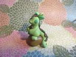 Small Green Stone Dragon