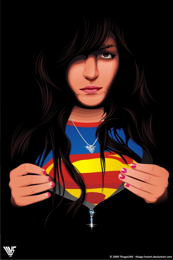 supergirl by thiago-lostart