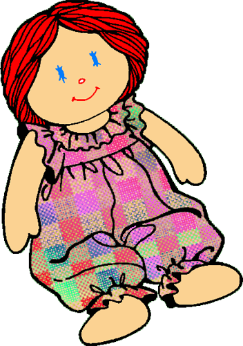 Doll Clothes Clipart