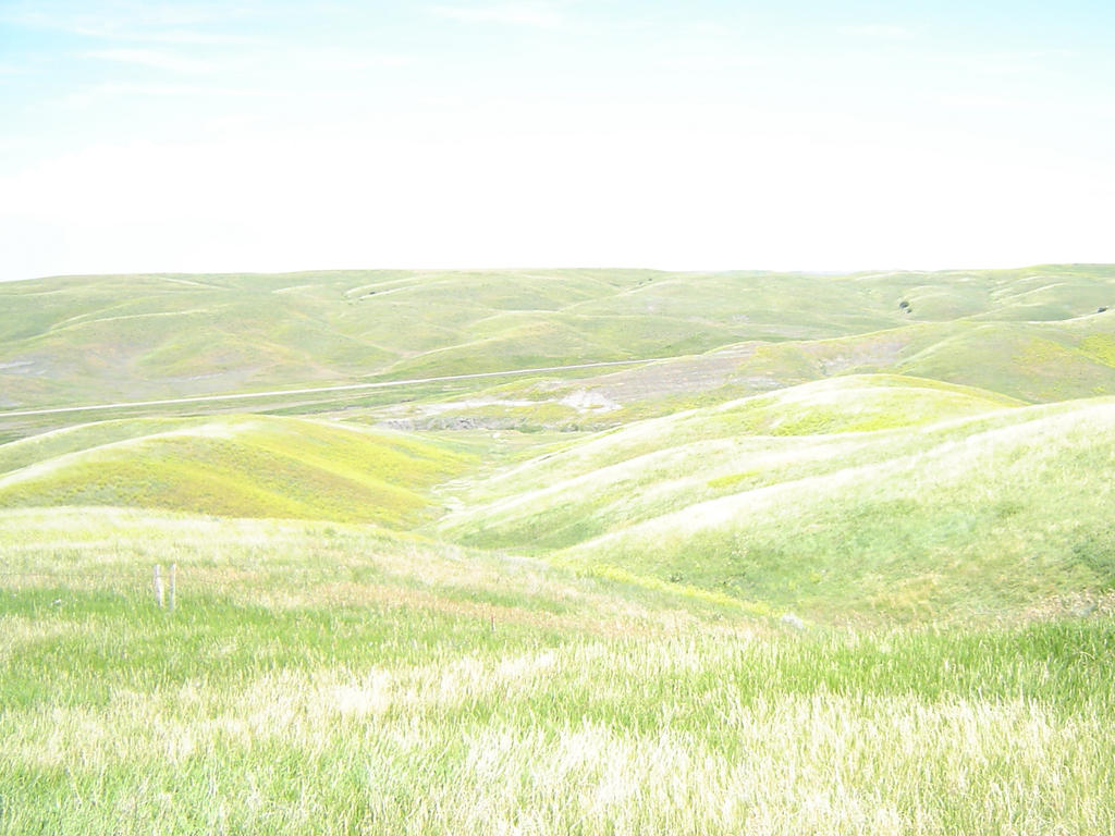 Rolling Hills by clipartcotttage