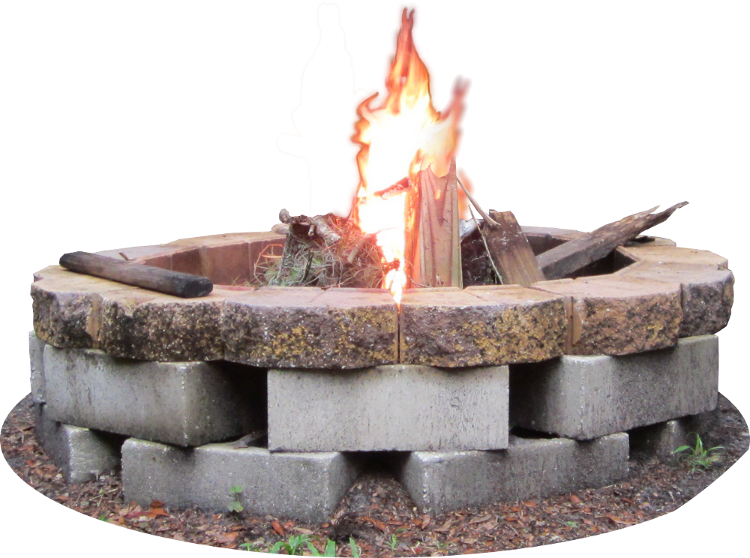 Backyard Firepit By Clipartcotttage On Deviantart