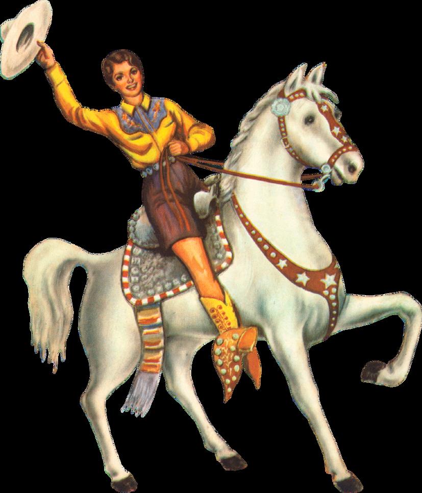 Vintage Cowgirl by clipartcotttage on deviantART