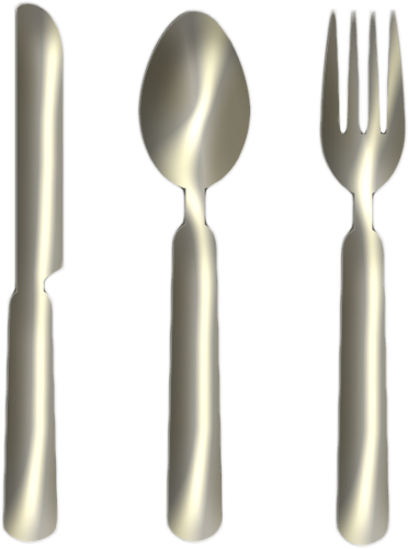 Knife Fork Spoon Silver Png Clipart by clipartcotttage on ...