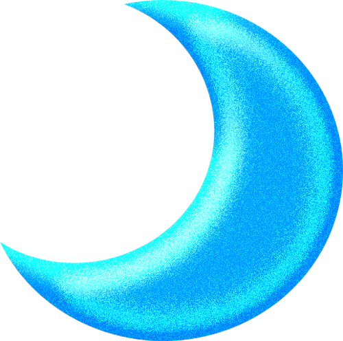Moon Blue Png Clipart by clipartcotttage on DeviantArt