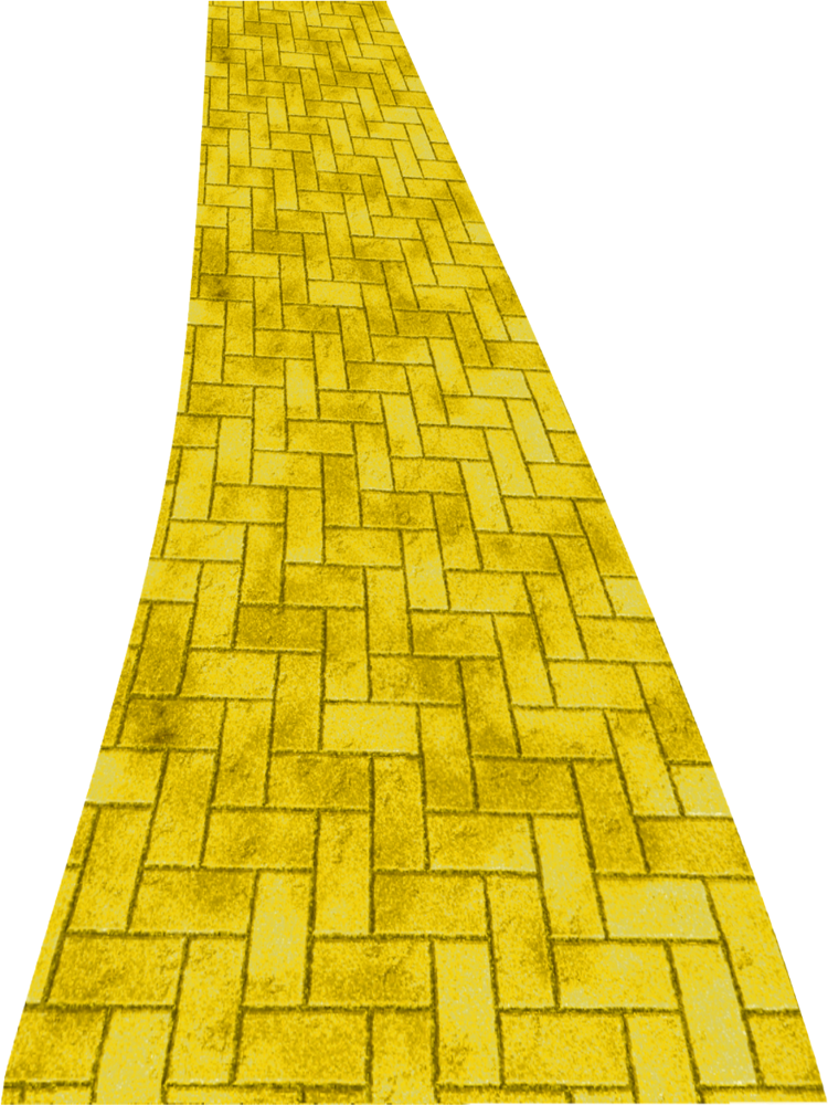 yellow brick road png clipart by clipartcotttage on deviantart rh deviantart com Winding Yellow Brick Road wizard of oz yellow brick road clipart