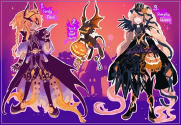 Halloween OTAs CLOSED