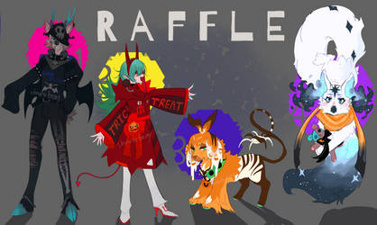 Gifts n wishes for Halloween adopt raffles CLOSED