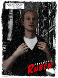 Me in Sin City Style by rubenz87