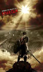 Wrath of a Spartan by rubenz87