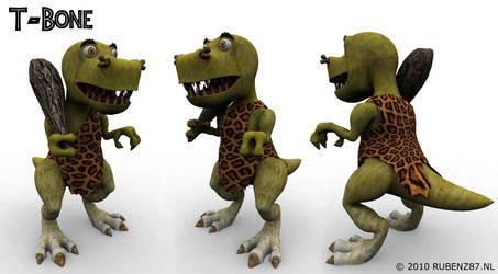 T-Bone the Dinosaur by rubenz87