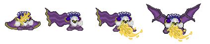 Meta-Knight fan sprites. by KenshinTheGreat
