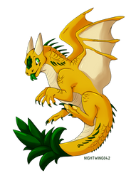 Pineapple Dragon by Nightwing042