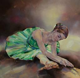 Emerald ballerina by longest13
