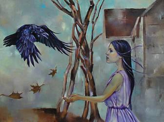 Raven by longest13