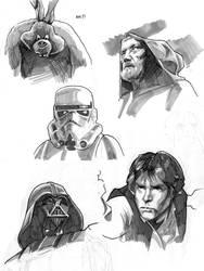 Star Wars - Sketches