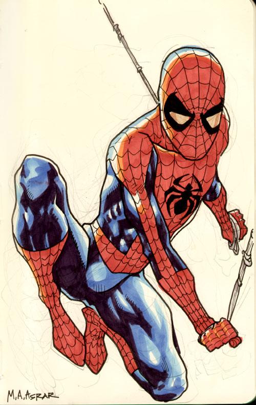 Spider-Man Sketch by MahmudAsrar