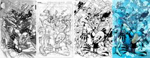 Dynamo 5 - 12 Cover Process
