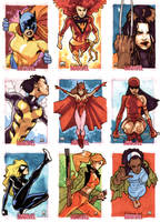 Women Of Marvel - Pt VII by MahmudAsrar