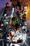 Street Fighter Tribute by MahmudAsrar