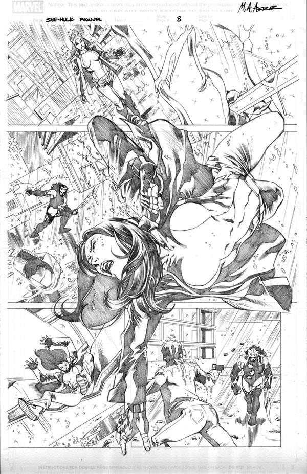 She-Hulk Cosmic Collision - P8 by MahmudAsrar on DeviantArt