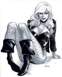 30-60-90 Black Canary by MahmudAsrar