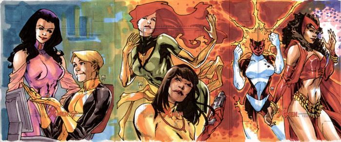 Artist Proof Card - X-Men