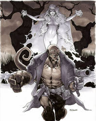 Hellboy And The Swamp Witch