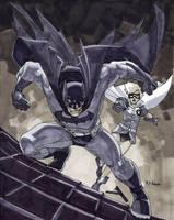 Dark Knight And Robin by MahmudAsrar